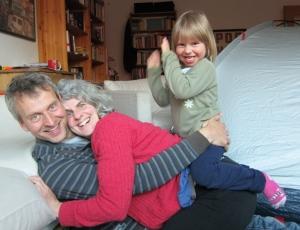 Christian, Marie-Luise und Elena obenauf
